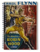 The Adventures Of Robin Hood  Spiral Notebook