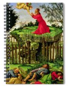 The Agony In The Garden, C.1500 Oil On Canvas Spiral Notebook