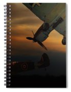 The Air Battle Of Britain Spiral Notebook