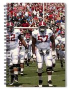 The Alabama Crimson Tide Spiral Notebook
