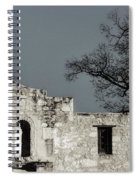 The Alamo Spiral Notebook