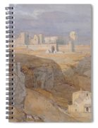 The Alcazar Of Carmona, Andalucia Spiral Notebook