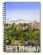 The Alhambra Granada Spiral Notebook