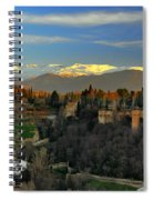 The Alhambra Palace Granada Spain Spiral Notebook