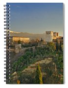 The Alhambra Palace Spiral Notebook