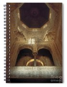 The Alhambra The Infantas Tower Spiral Notebook