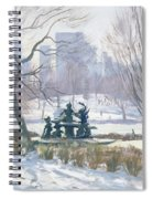 The Alice In Wonderland Statue, Central Park, New York Spiral Notebook