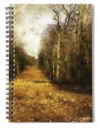 The Allee At Dawn Spiral Notebook