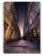 The Alley Of Cracov Spiral Notebook