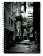 The Alleyway Spiral Notebook