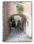 The Alleyway To Home Spiral Notebook
