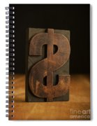 The Almighty Dollar Spiral Notebook