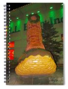 The Almighty Ll Bean Boot Spiral Notebook