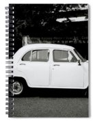 The Ambassador Car Spiral Notebook