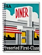 The American Diner  Spiral Notebook