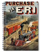 The American Railway Scene  Spiral Notebook