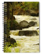 The Amsden River Wyoming Spiral Notebook