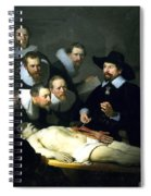 The Anatomy Lesson Spiral Notebook