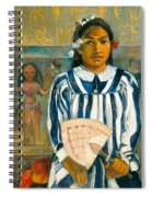 The Ancestors Of Tehamana Or Tehamana Has Many Parents.merahi Metua No Tehamana. Spiral Notebook