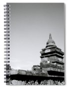The Ancient Stupas Of Borobudur Spiral Notebook