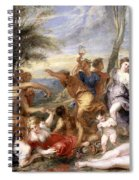 The Andrians A Free Copy After Titian Spiral Notebook