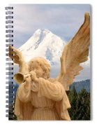 Sounds Of The Angel  Spiral Notebook