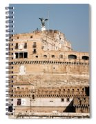 The Angel In The Fortress Spiral Notebook
