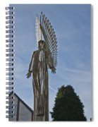 The Angel Of Bargoed 2 Spiral Notebook