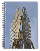 The Angel Of Bargoed 4 Spiral Notebook