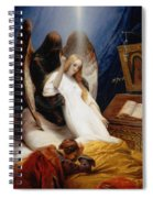 The Angel Of Death Spiral Notebook