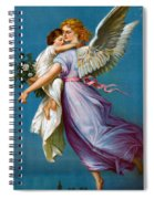 The Angel Of Peace Spiral Notebook