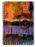 The Angels And The Star Spiral Notebook
