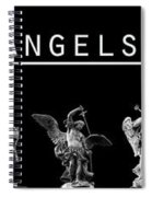 The Angels Of Rome Spiral Notebook