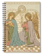 The Annunciation Of The Blessed Virgin Mary Spiral Notebook