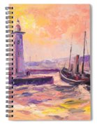 The Anstruther Harbour Spiral Notebook