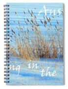 The Answer Is Blowing In The Wind Spiral Notebook