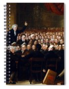 The Anti-slavery Society Convention 1840 Spiral Notebook