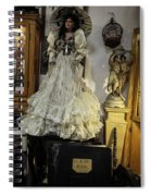 The Antique Doll Spiral Notebook