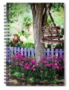 The Antique Rose Emporium Spiral Notebook