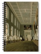 The Antiquities Gallery Of The Academy Of Fine Arts, 1836 Oil On Canvas Spiral Notebook