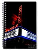 The Apollo Theater Spiral Notebook