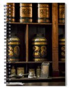 The Apothecary Spiral Notebook