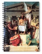 The Apotheosis Of Homer Spiral Notebook