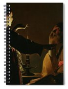 The Appearance Of The Angel To Saint Joseph Spiral Notebook