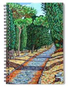 The Appia Antica Spiral Notebook