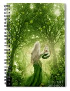 The Apple Fairy Spiral Notebook