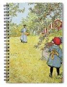 The Apple Harvest Spiral Notebook