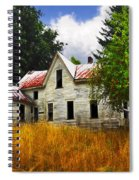 The Apple Tree On The Hill Spiral Notebook