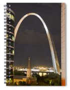 The Arch And Cathedral Spiral Notebook