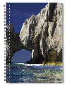 The Arch Cabo San Lucas Spiral Notebook